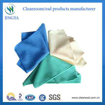 colorful microfiber towel in cleaning clothes