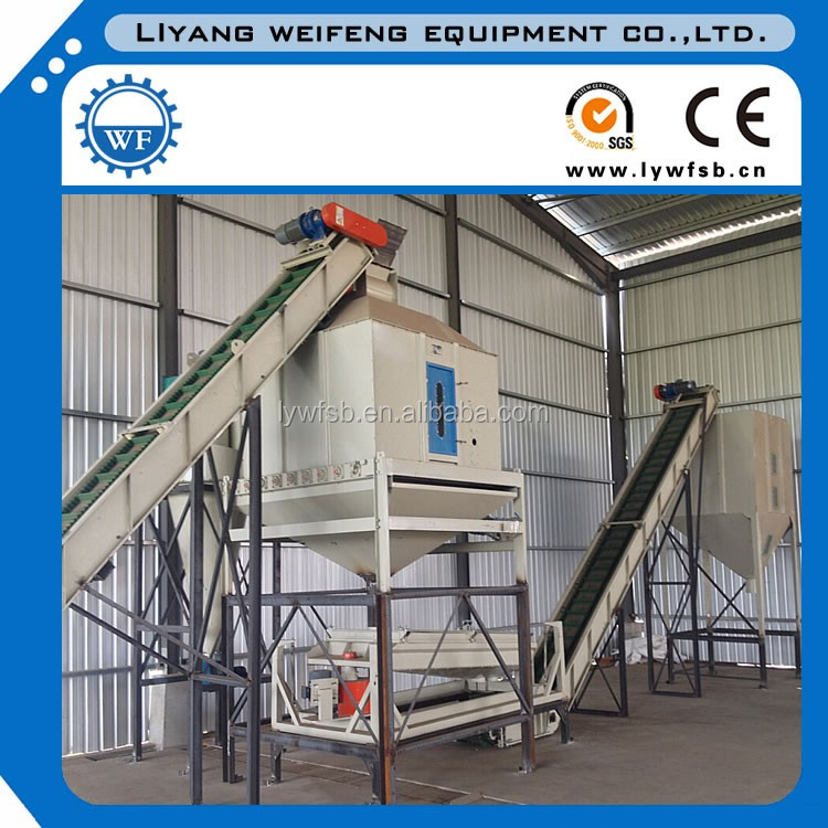 2018CE/ISO complete full automatic 4 ton per hour wood pellet production line/wood pelleting machine line