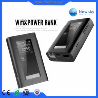 Mini pocket 3g 4g wifi router strong power bank 5200mAH