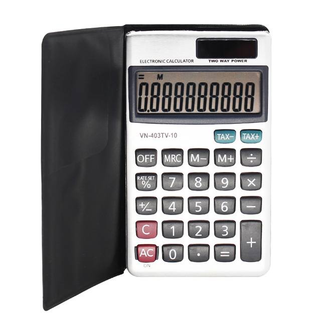 Creative Office Mini Pocket Dual Power Holster TAX Calculator