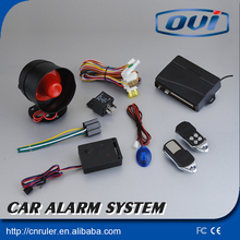 Anti-hijacking car alarm system AW026 car alarm AOWEI auto security