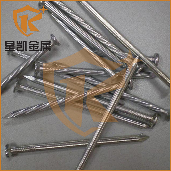 Steel Material and Concrete Nail Type concrete nails galvanized