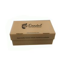 ORIGIN BROWN KRAFT CORRUGATED SHOES PAPER PACKING BOX WITH FREE SAMPLE