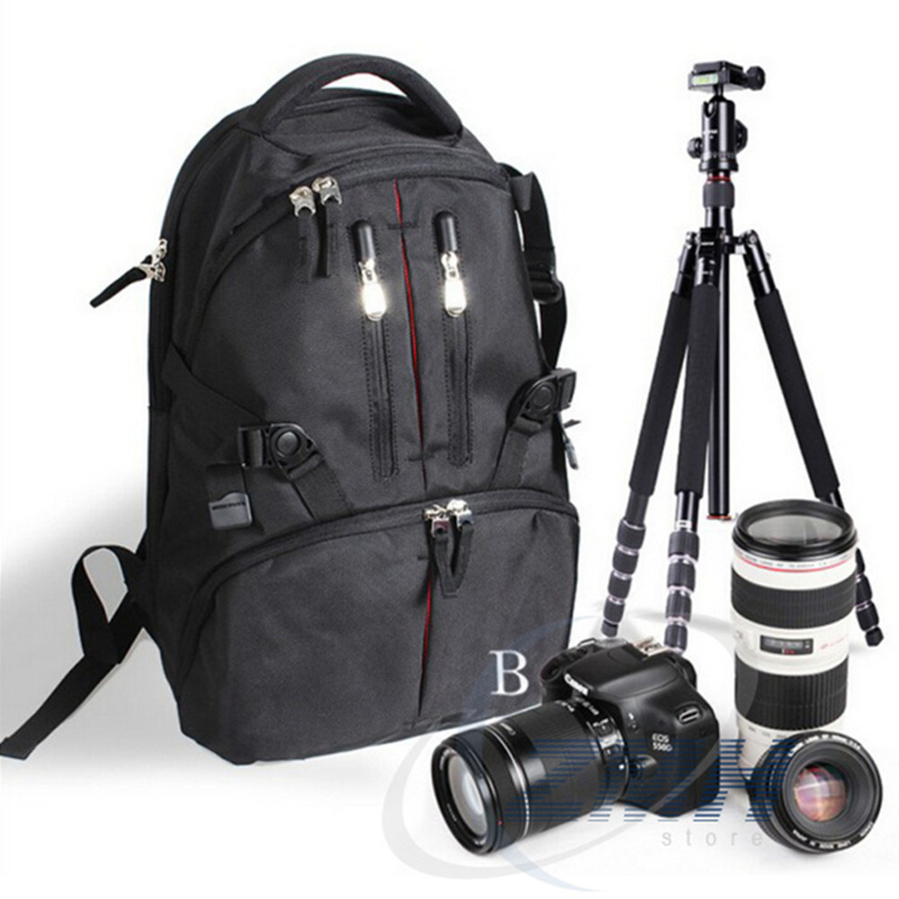 High quality Wholesale Hot Sale dslr Camera Bag Backpack Waterproof Durable Camera Bag