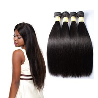 Women Necessary 20 Inches 3Pcs/Lot Virgin Hair 8A Peruvian Braiding Hair