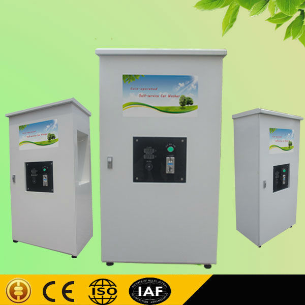 1.6KW 80 bar Coin/card operated self service car wash equipment/self-service optima steam car wash
