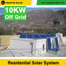 10 years warranty cheap price solar power system home 10kw