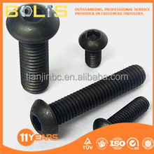 ISO7380 carbon steel hex socket round head cap screw