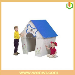 New products cardboard dog house,cardboard craft houses