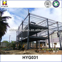 Prefabricated building steel structure design