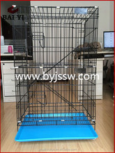 Cheap Double Tiers Wire Cat Cages And Outdoor Cat House
