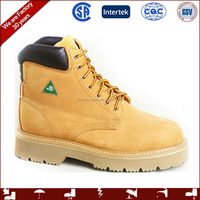 CSA approved men industrial safety work boots/ safety shoes
