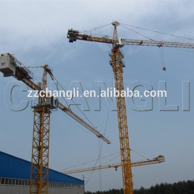 Mini Tower Cranes : Ce iso certification qtz a hydraulic fixed mini tower