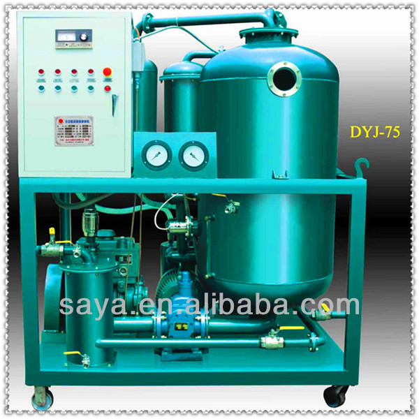 Good temperature resistance multi-function oil purifier /centrifugal lube oil purifier lower lubrication