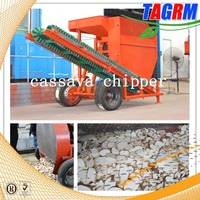 fruit and vegetable cutting machine cassava chipper/cassava chips making machine with four blades