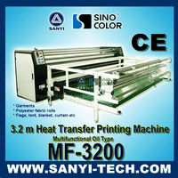 3.2 m Thermal Transfer Machine, MF-3200 for Textile, Multifunctional Oil Type