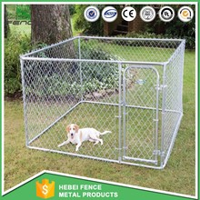manufacturer 10x10x6 foot classic galvanized outdoor dog kennel