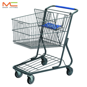 MC- C 125L Supermarket Shopping Trolley, Shopping Cart
