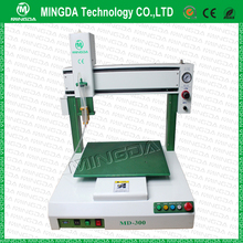 Hot sale high quality MINGDA automatic glue dispenser robot, bezel glue dispensing machine,frame glue dispenser