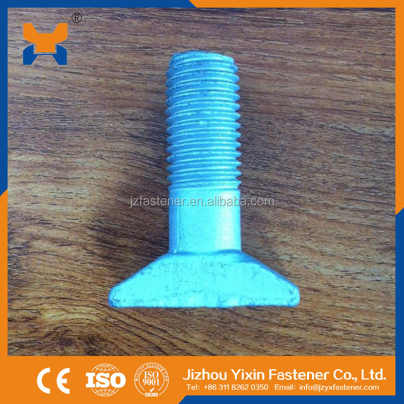 GOST 16016-79 T Bolts for Railway Track Fastening