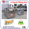 Shanghai manufacturers elctrical cigarette liquid Peristaltic pump filling and capping machine