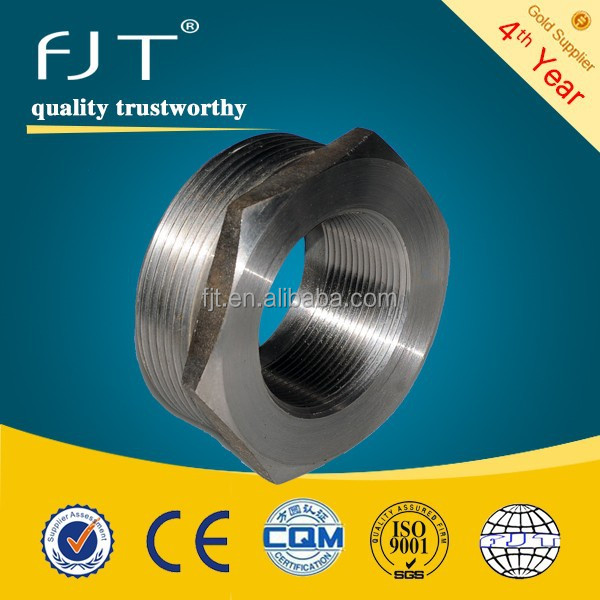 NPS 1/8'- 4''High Quality Forged Steel hexagon Bushing