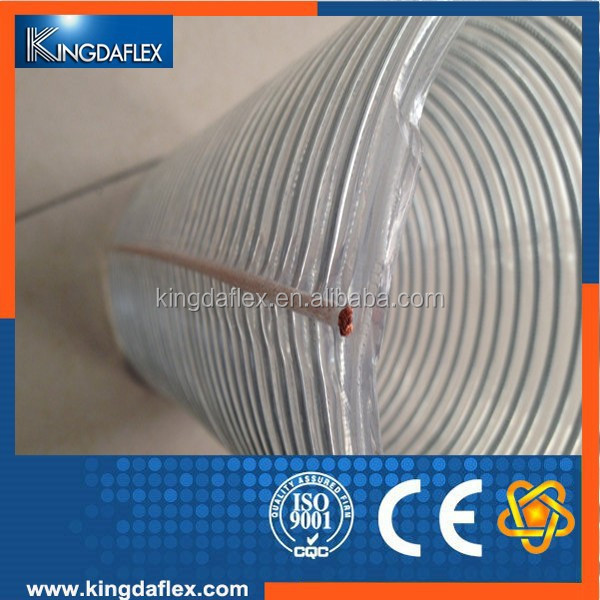8mm Fuel and Heat Resistant Food Grade Clear Silicone Water Hose Tube