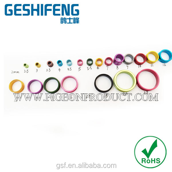 poultry ring chicken duck pigeon bird foot ring 2mm to 28mm foot rings