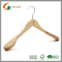 Cardboard clothes hangers for suits