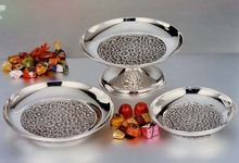 Daisies style sterling silver bowls