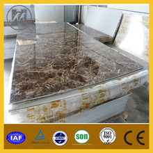 good quality pvc artificial fashionable marble stone