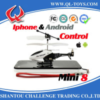 3CH iPhone/iTouch/iPod Mini Infrared die cast mini rc helicopter with gyro lh1210