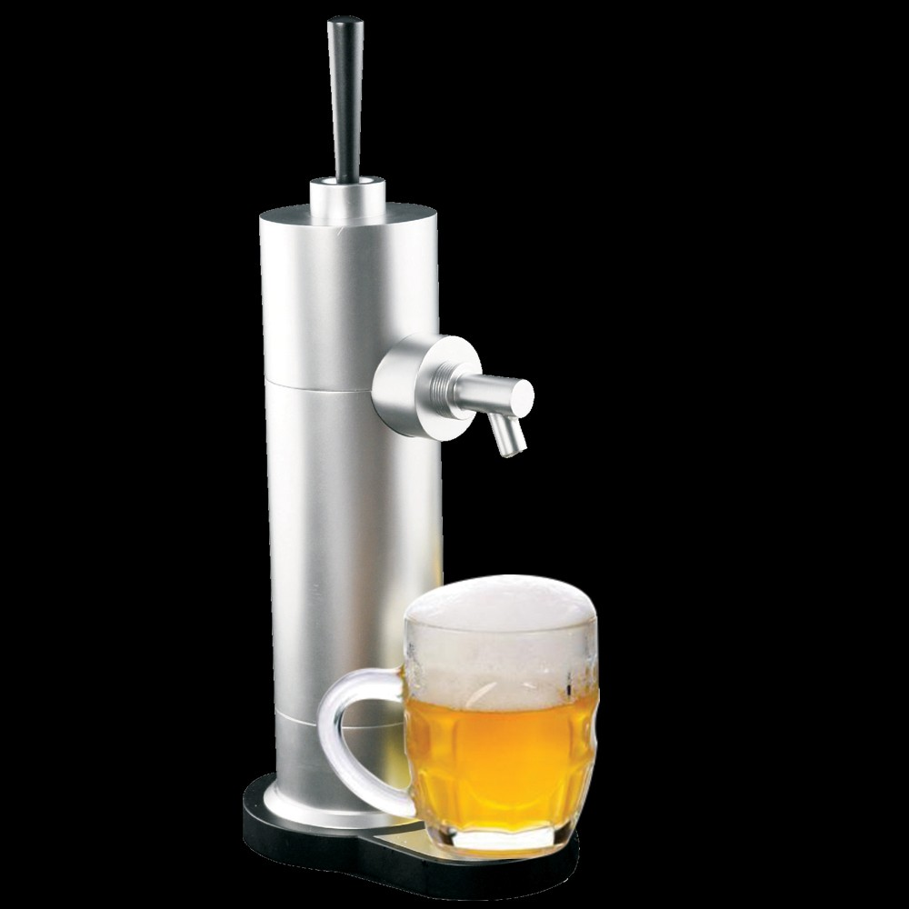 Ultrasound Handy Beer Foamer Promises a Perfect Pour