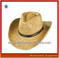 wholesale straw cowboy hats for sale/cheap palm outback hat