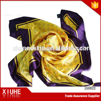 2016 Handmade Fashion Polyester Printed Scarf