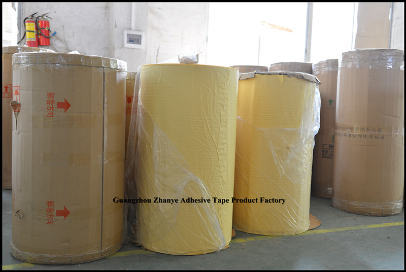 Automotive Yellow Masking Tape Jumbo Roll