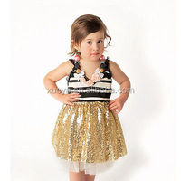 The new children's clothing princess birthday dress 1 year old girl
