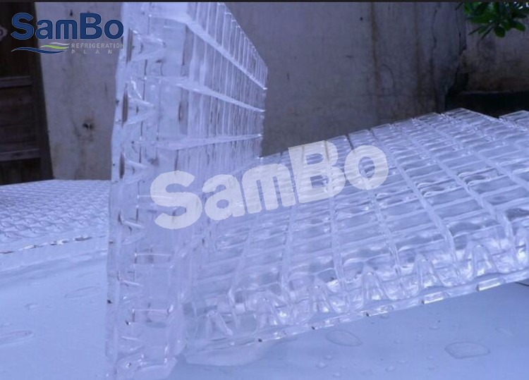 20KG/24H 50lb/d cube ice making machine for sale