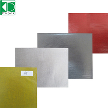 China Made colored glassine paper greaseproof color for gift packaging black gold supplier