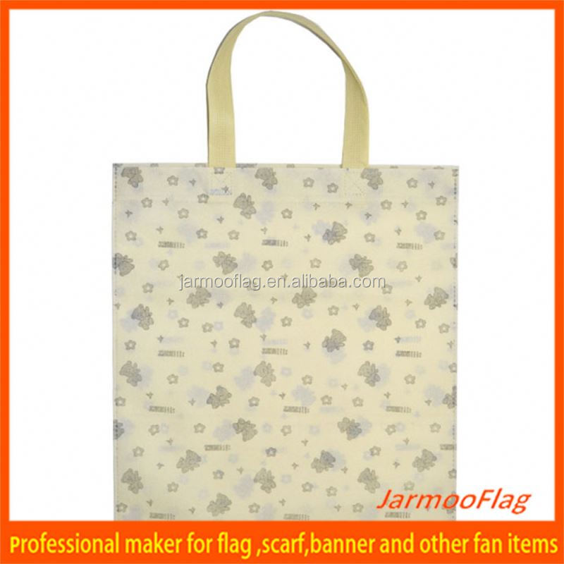 Hot Sale Cheap Printed foldable recyclable Waterproof Laminated PP non woven bag
