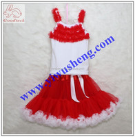 Baby girls clothing sets cute girls tutu skirt girls pettiskirt set