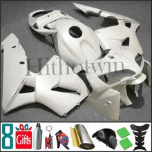 2005 2006 CBR600RR F5 brilliant all white pure white INJ Fairings Injection MOLDED Body Kit Fairing For honda CBR 600 RR 200