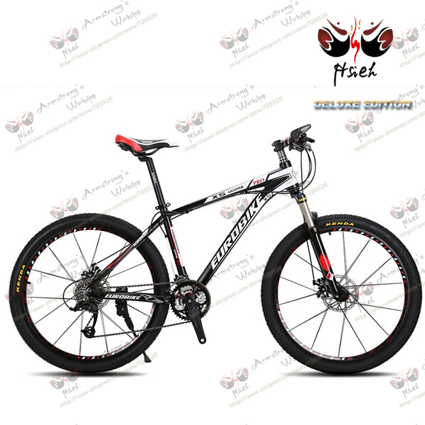 DELUXE MTB!shifting MTB 27 speed 26er double disc brake mountain bike