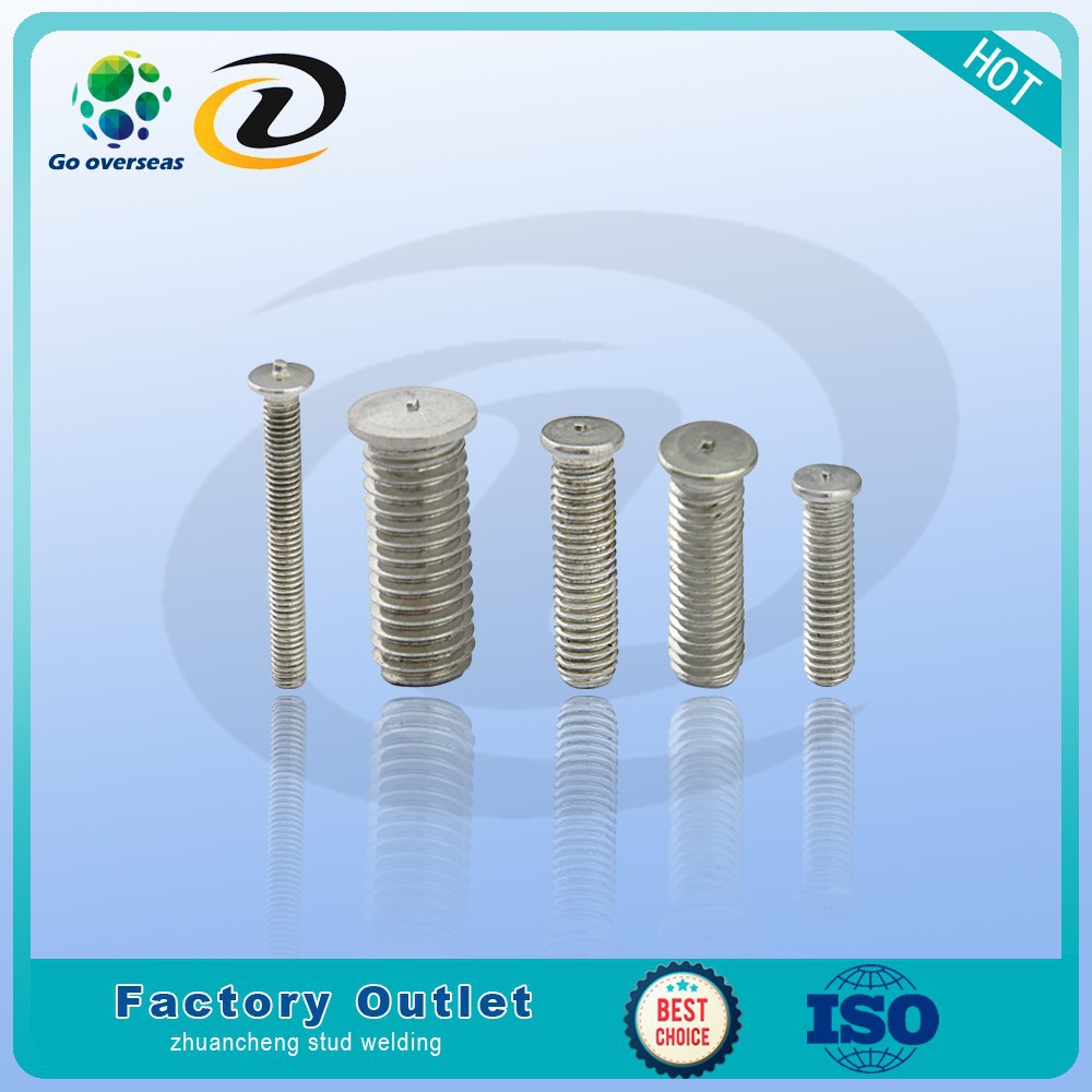 stainless arc welded stud nails with welding gun and welder for manufacturing or hardware m6 <strong>m8</strong> <strong>m10</strong> m12 m16 m20