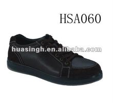 Low Cost Embossed Leather Black Casual Dress Shoes