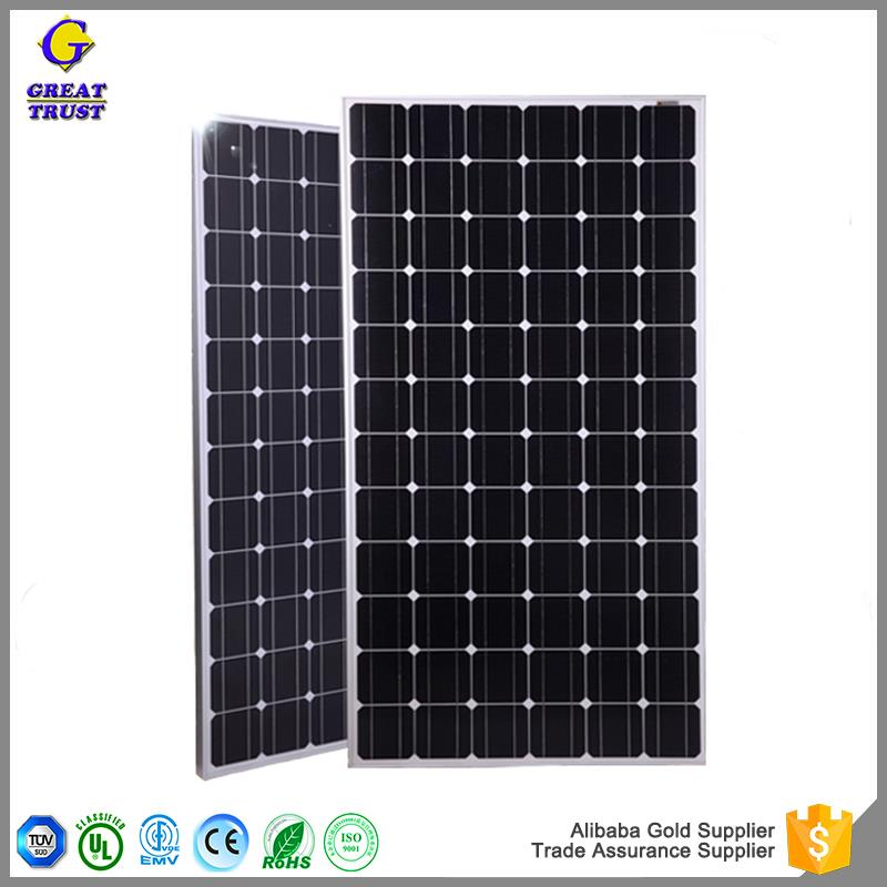Multifunctional solar panel cleaning robot pv solar panel price 260w 200w solar panel price