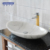 Salable fashionable simple antiwear smooth texture basin in bathroom
