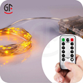 Waterproof Battery Operated Remote Control Led Bulb String Light