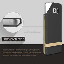 2016 Newest Original Rock Royce Series TPU+PC Ultra Thin shockproof phone Case For Samsung Galaxy S7 G9300