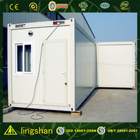 SGS certification insulated corrugated panels container homes